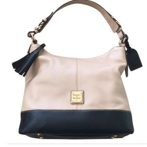 Dooney & Bourke Sophie Tan Leather Hobo Bag